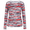 TAIL Women`s Ricki Long Sleeve Tennis Top Brush Stroke