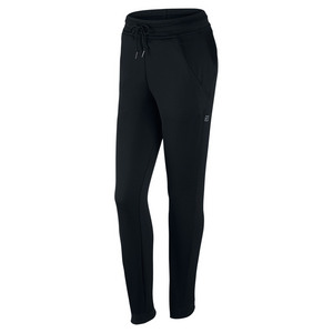 Women`s Court Tennis Pant Black and White