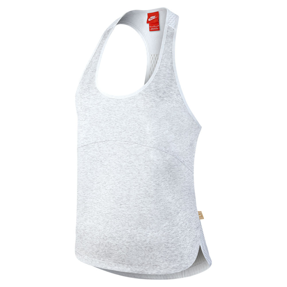 Women's Court Tennis Tank Birch Heather