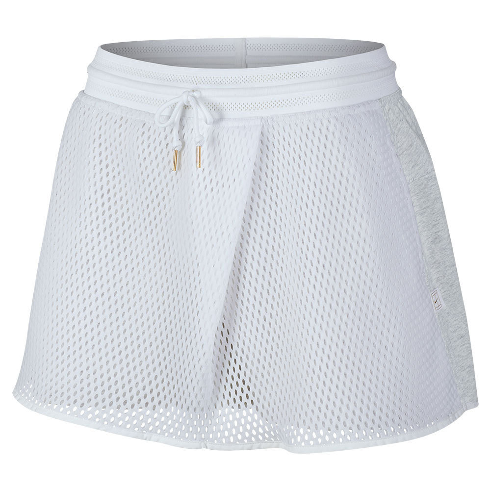 Women's Court 11.75 Inch Tennis Skort White