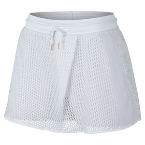 Women`s Court 11.75 Inch Tennis Skort White