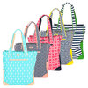 AME AND LULU Women`s Tennis Tote Bag