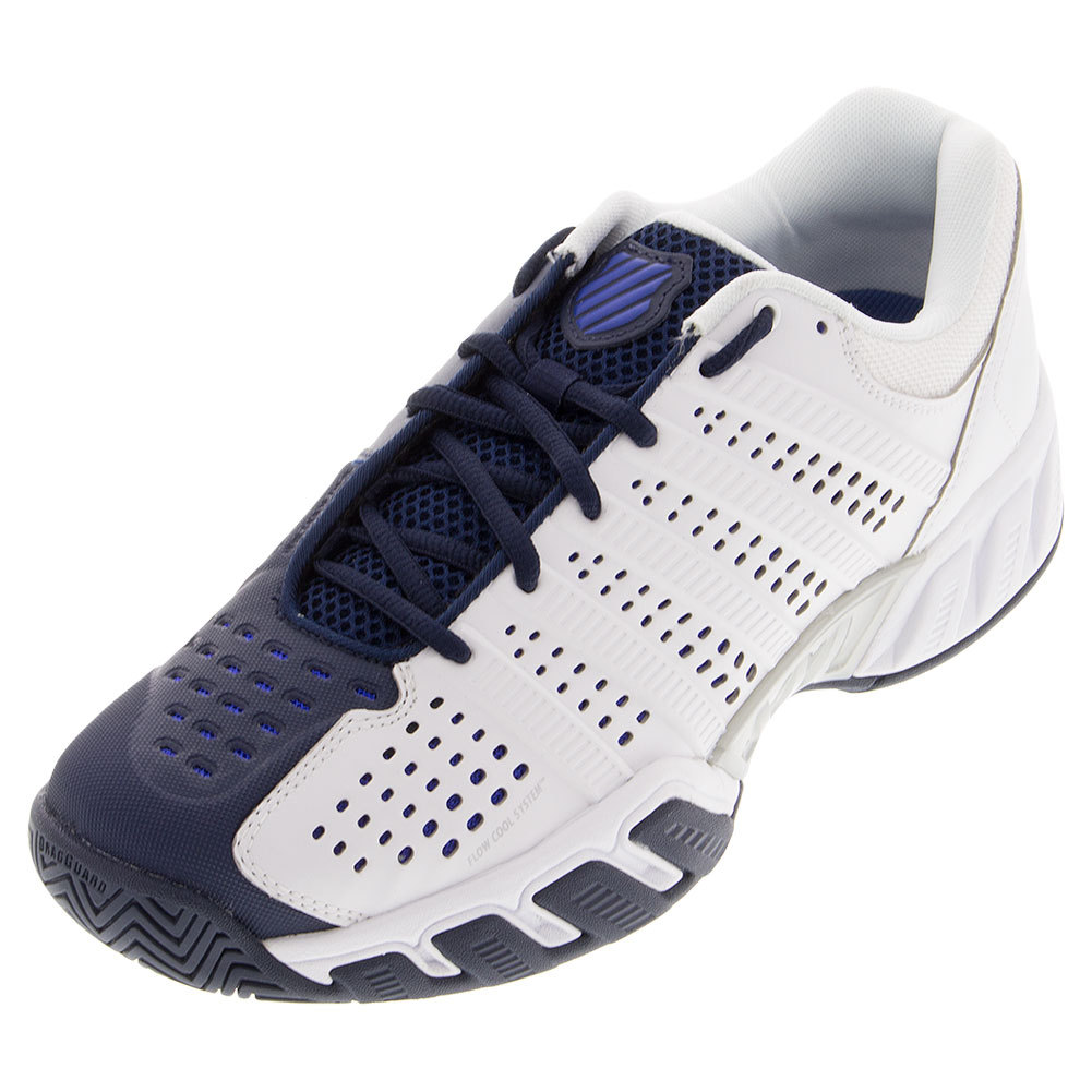 Men's Bigshot Light 2.5 Tennis Shoes White And Electric Blue
