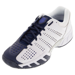 Men`s BigShot Light 2.5 Tennis Shoes White and Electric Blue