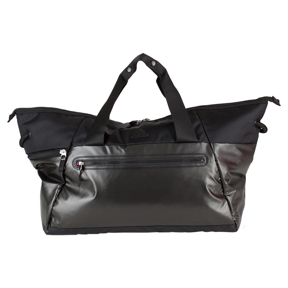 Women's Studio Duffel Tote Black Metallic