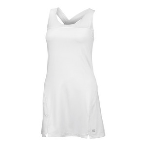 Women`s Team Tennis Dress II White