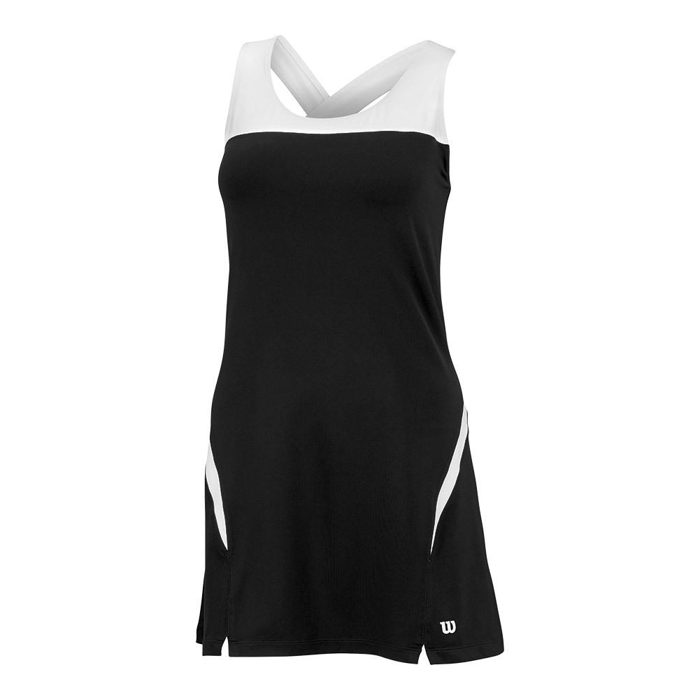Women's Team Tennis Dress Ii Black