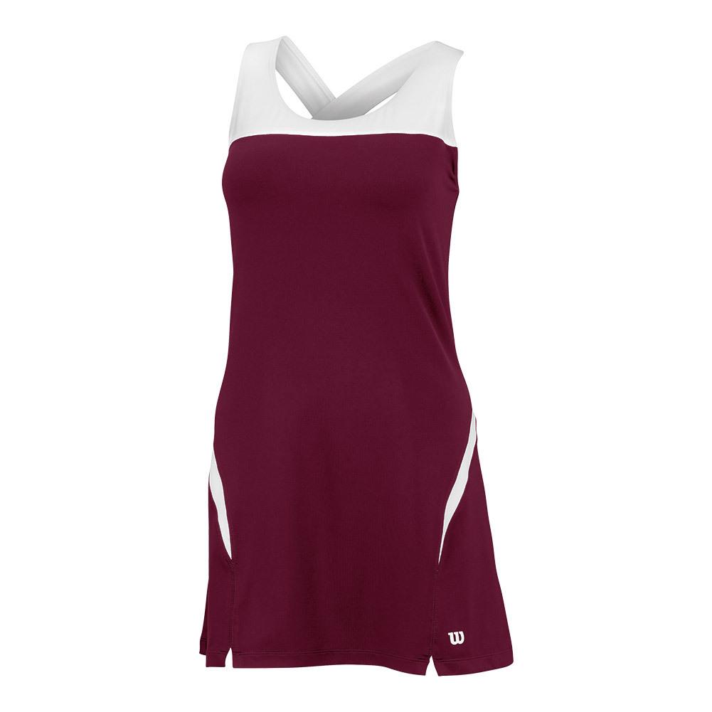 Women's Team Tennis Dress Ii Cardinal