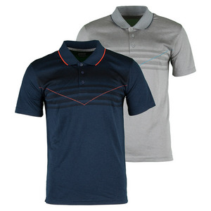 Men`s Screenprint Tennis Polo