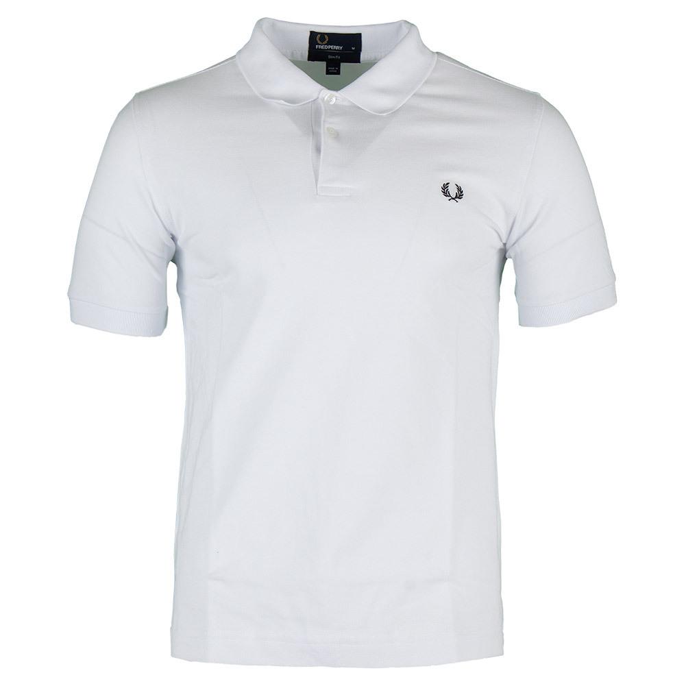 Men's Plain Slim Fit Tennis Polo