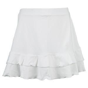 Girls` Pleated Tennis Skort White