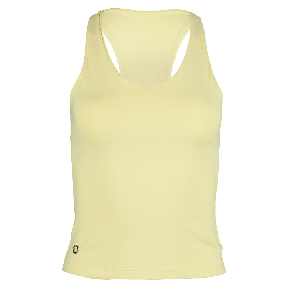 Women`s Bow Tank Top Yellow
