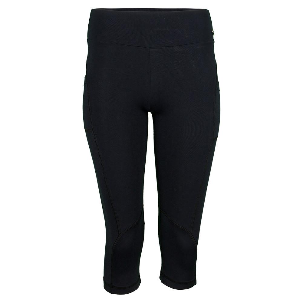 Women`s Sleek Capri Black