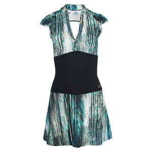 Women`s Classic Tennis Dress Intro Print