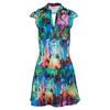 BLUEFISH SPORT Women`s Classic Tennis Dress Icon Print