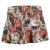 BLUEFISH SPORT Women`s Painter Skirt Print