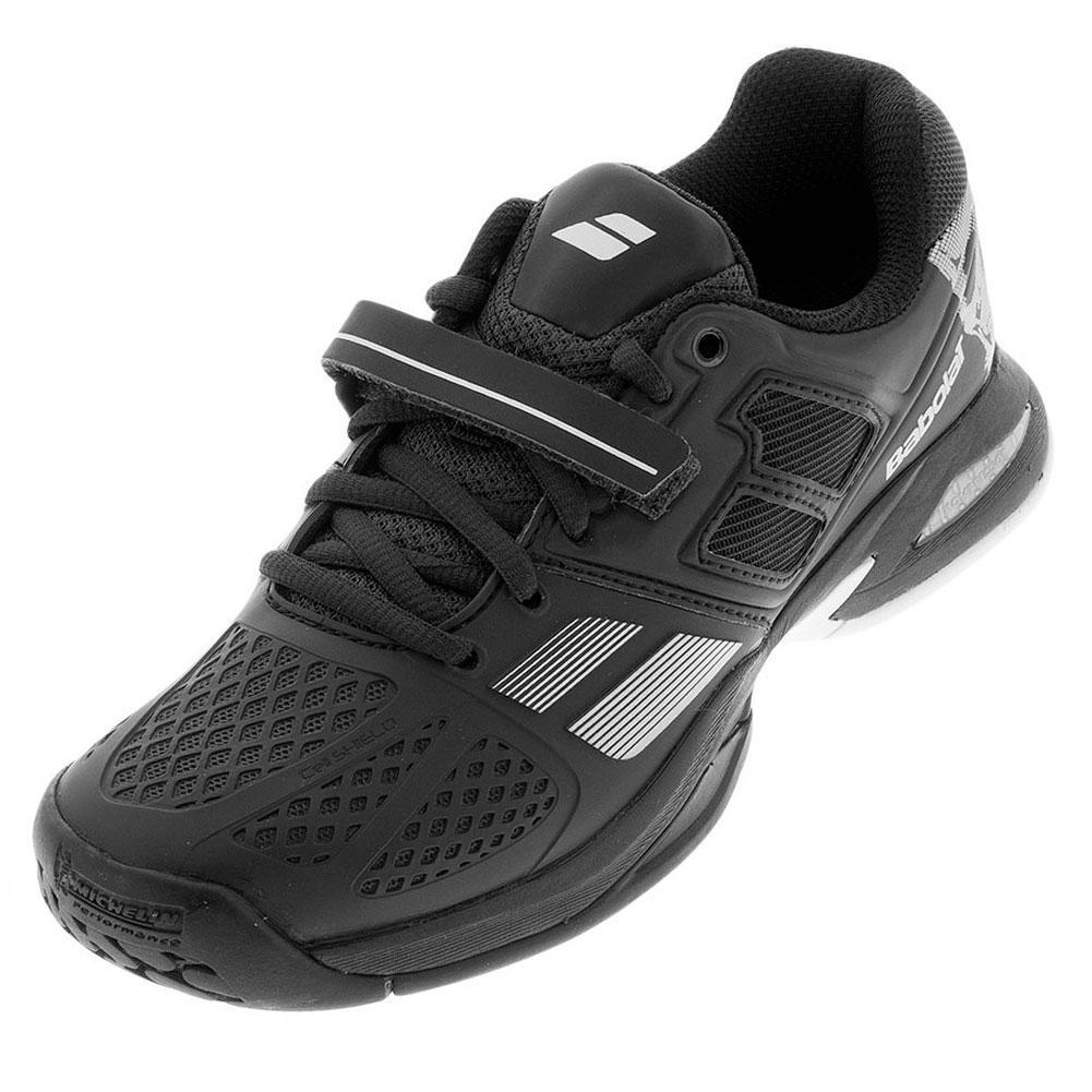 Juniors Propulse Tennis Shoes Skull Black