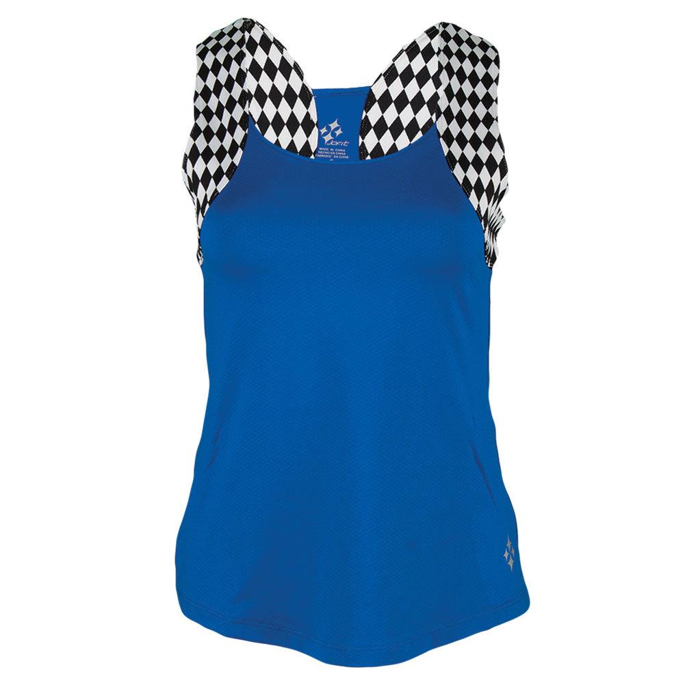 Women's Lagoon Tennis Tank Cobalt