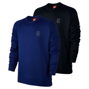 Men`s Court Fleece Tennis Crew