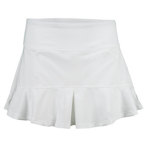 Women`s Jamming 13 Inch Tennis Skort White