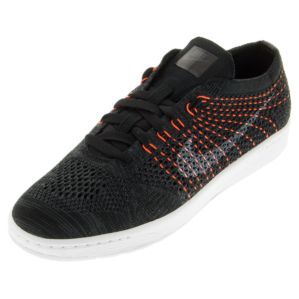 Women's Classic Ultra Flyknit Tennis Shoe Black And Anthracite