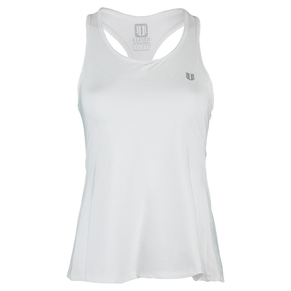 Women's Raceday Tennis Tank White