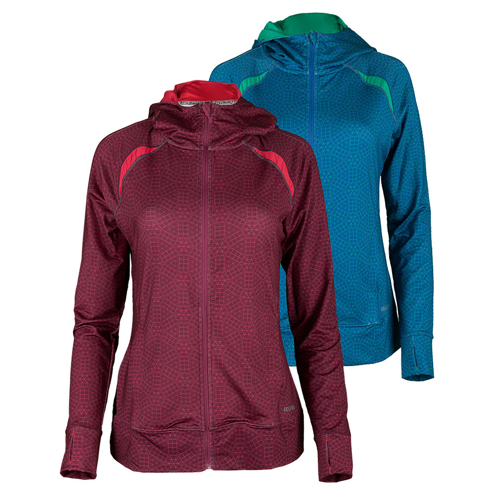 Women's Accelerate Full Zip Tennis Hoodie