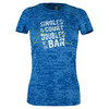 Women`s Singles/Doubles Tennis Tee RY_ROYAL_BURNOUT
