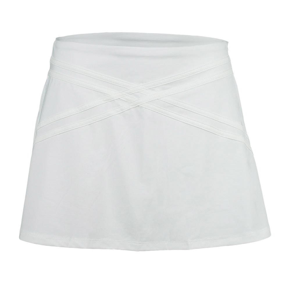 Women's Inspire 14 Inch Tennis Skort White