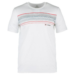 TRAVISMATHEW MENS FISCHER TENNIS CREW WHITE