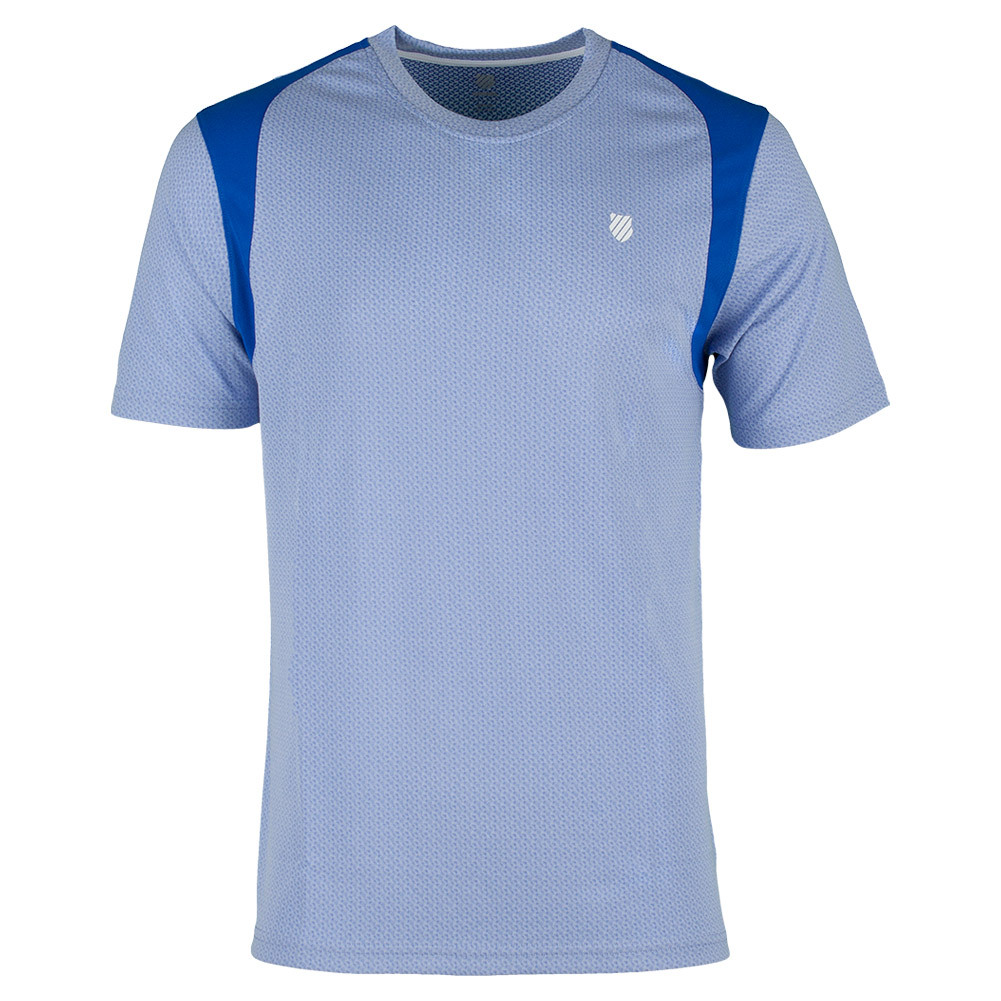 Men's B2 Tennis Crew Dazzling Blue