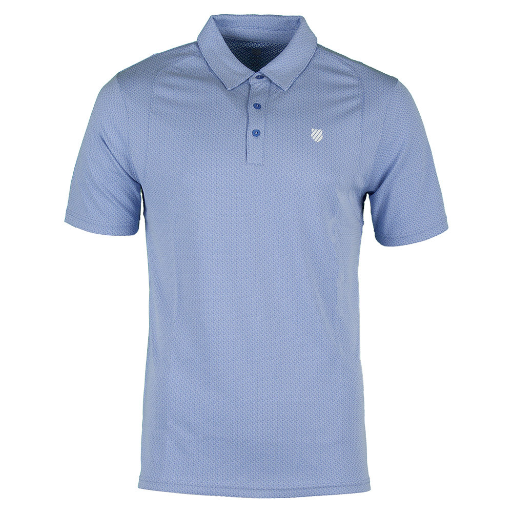 Men's Bb Tennis Polo Dazzling Blue