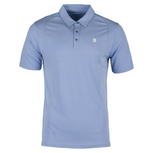 Men`s BB Tennis Polo Dazzling Blue