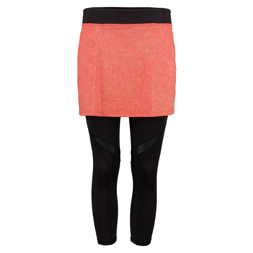 Women's Tennis Skirt Capri Orange