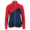 BOLLE Women`s All American Tennis Jacket Bolle Red and Navy