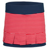 BOLLE Women`s All American Tennis Skort Bolle Red and Navy