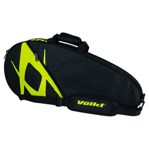 Team Pro Tennis Bag Black and Neon Yellow