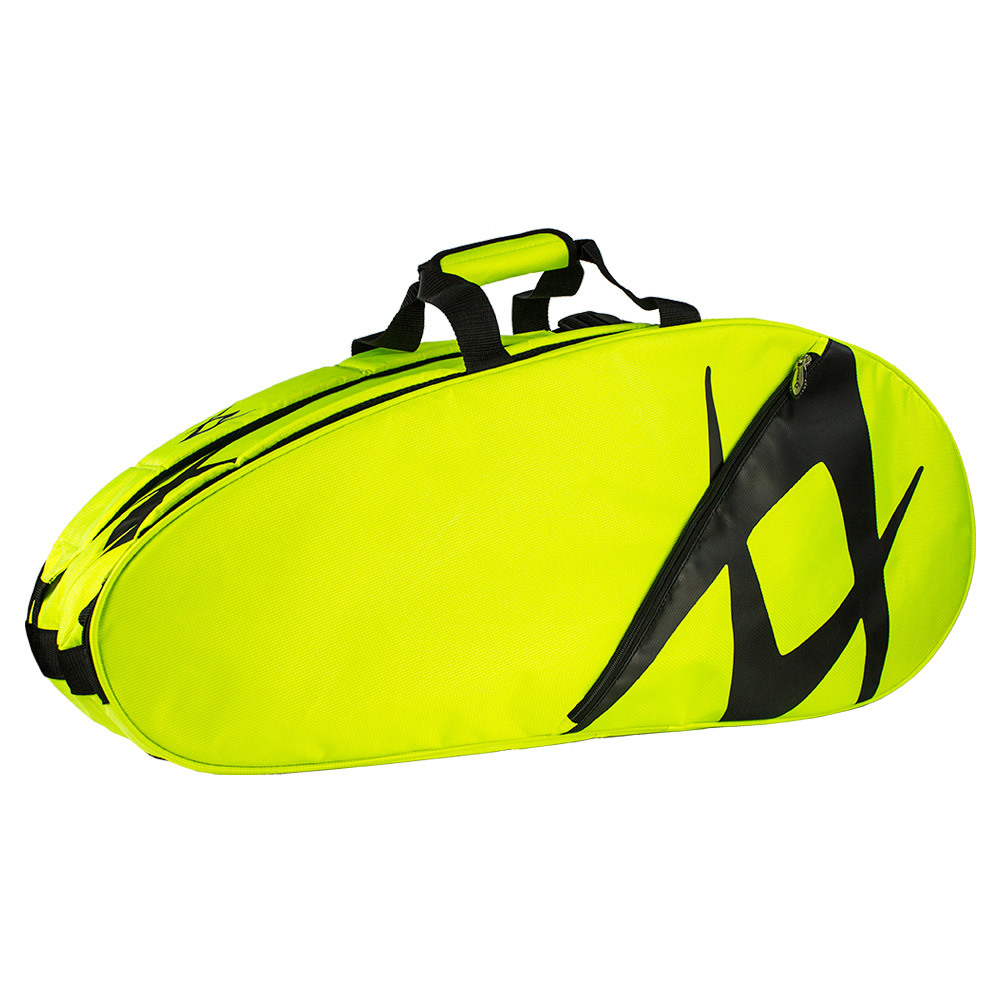 Team Combi Tennis Bag Neon Yellow And Black