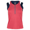 BOLLE Women`s All American Tennis Tank Bolle Red and White