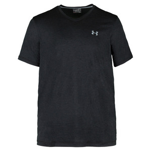 Men`s Tech V-Neck Tee Black