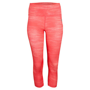 adidas WOMENS PERF MID-RISE 3/4 TIGHT SH RD