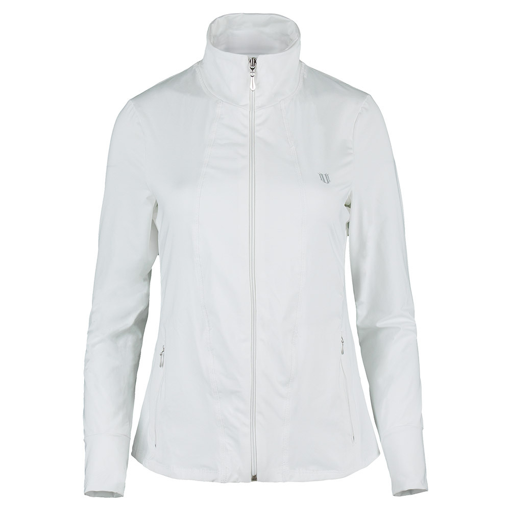 Women's Love Tennis Jacket White