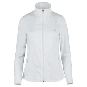 ELEVEN WOMENS LOVE TENNIS JACKET WHITE