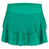 SOLFIRE Women`s Classic Peak Tennis Skort Sea Green