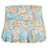 ELEVEN Women`s Flutter 12 Inch Tennis Skort Geo Swirl Print