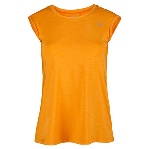 ELEVEN WOMENS ASCEND RELAXED TNS TEE APRICOT
