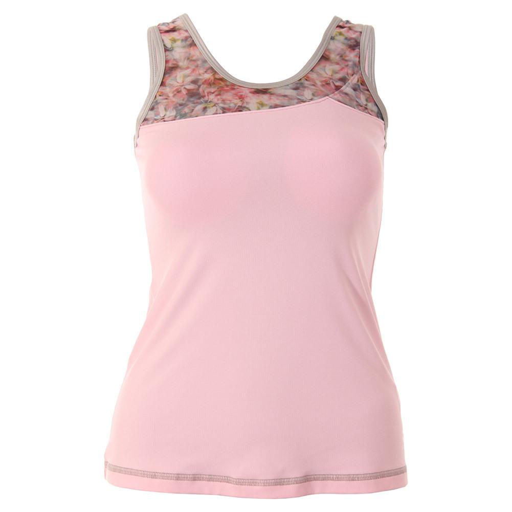 Women's Blossom Basic Tennis Tank Petal Pink