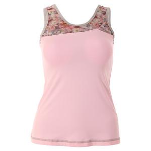 Women`s Blossom Basic Tennis Tank Petal Pink