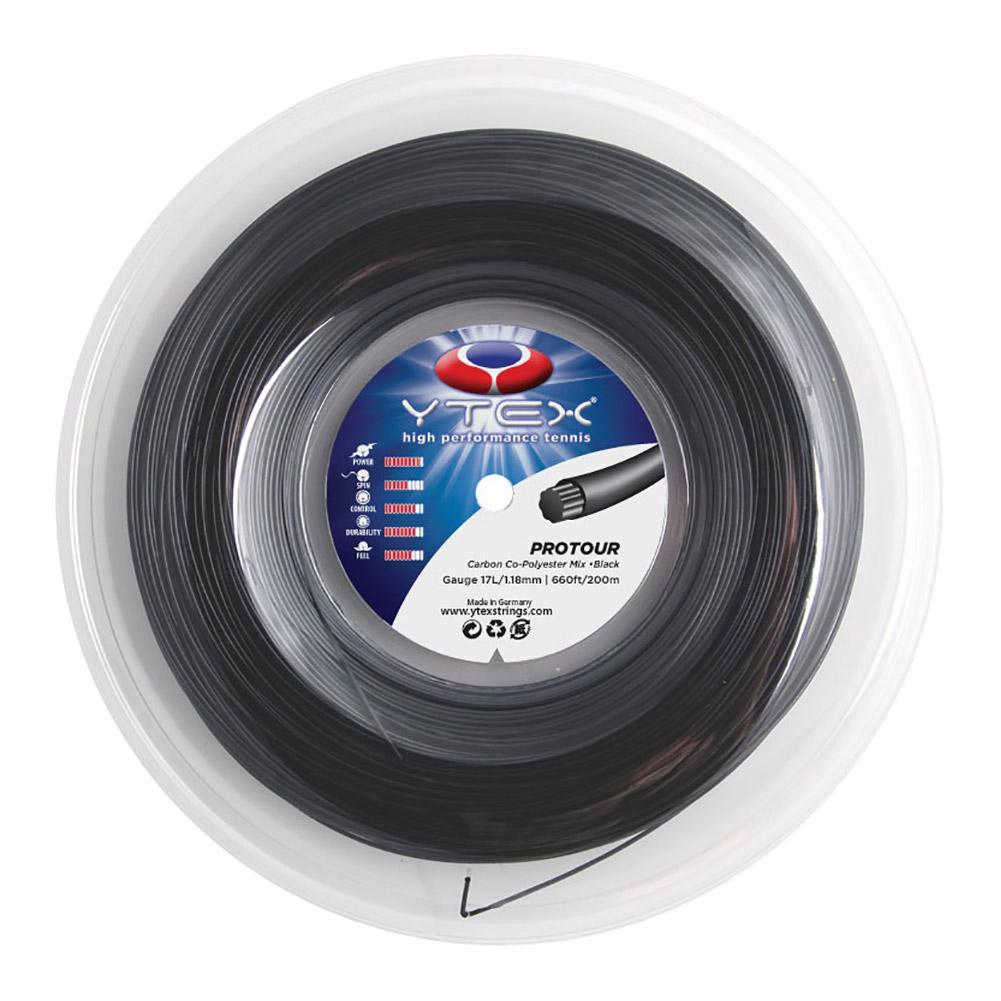 Protour Black 1.23/17l Tennis String Reel