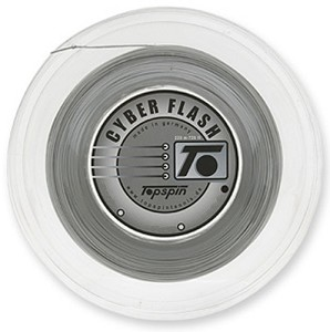 TOPSPIN CYBER FLASH STRING 16 (1.30) REEL SILVER
